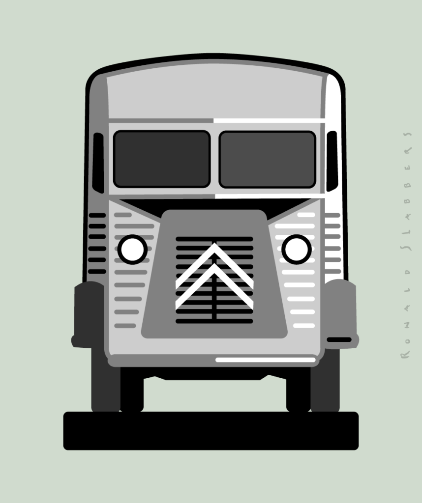 Citroën H-van Logo pictogram illustration design, Citroën HY