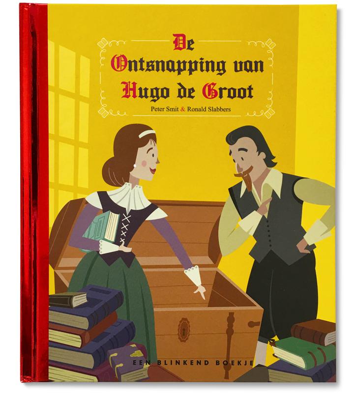 Cover illustratie Hugo de Groot