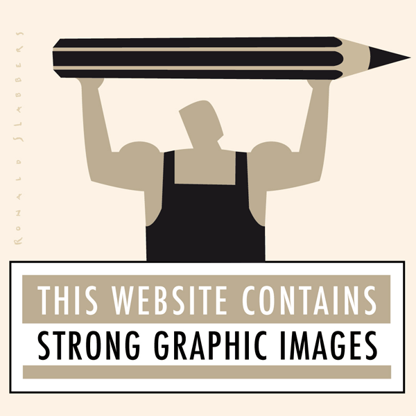 pictogram illustration of a weightlifter lifting a big pencil above his head. This website contains strong graphic images. Strong guy with very big pencil